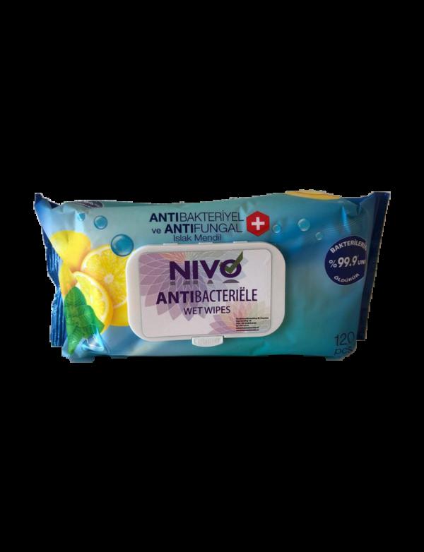Antibacteriële natte doekjes - 120 doekjes per verpakking